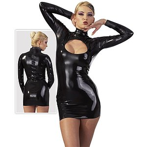 Latex-Minikleid