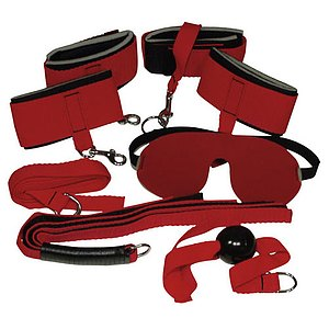 Fessel-Set »Bad Kitty« RED