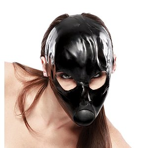 Latex Ball-Gag Maske