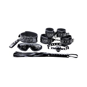 Bondage - Set BLACK - Beginner TOP